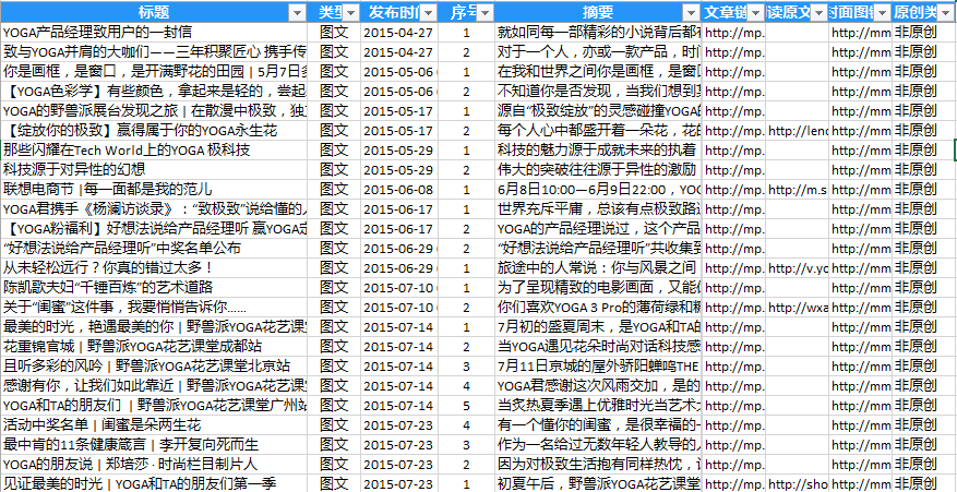 数据整理为Excel表格